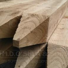 Treated Posts, Railing & Shiplap
