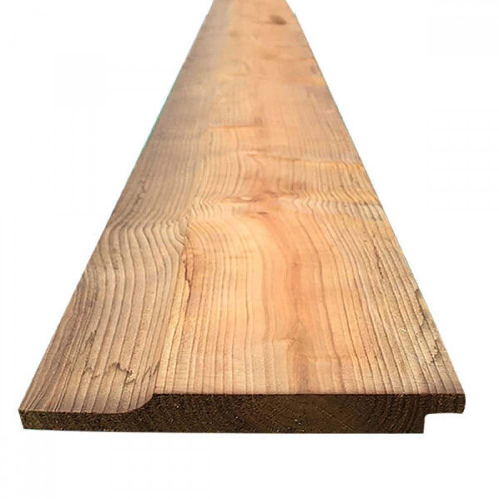 4.8m - (6x1) Shiplap Cladding Brown Treated