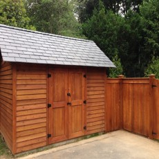 Fence & Shed