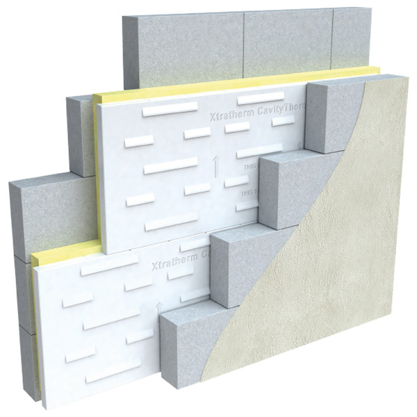 Xtratherm 150mm Full Fill Cavity Wall Insulation 2 16m2